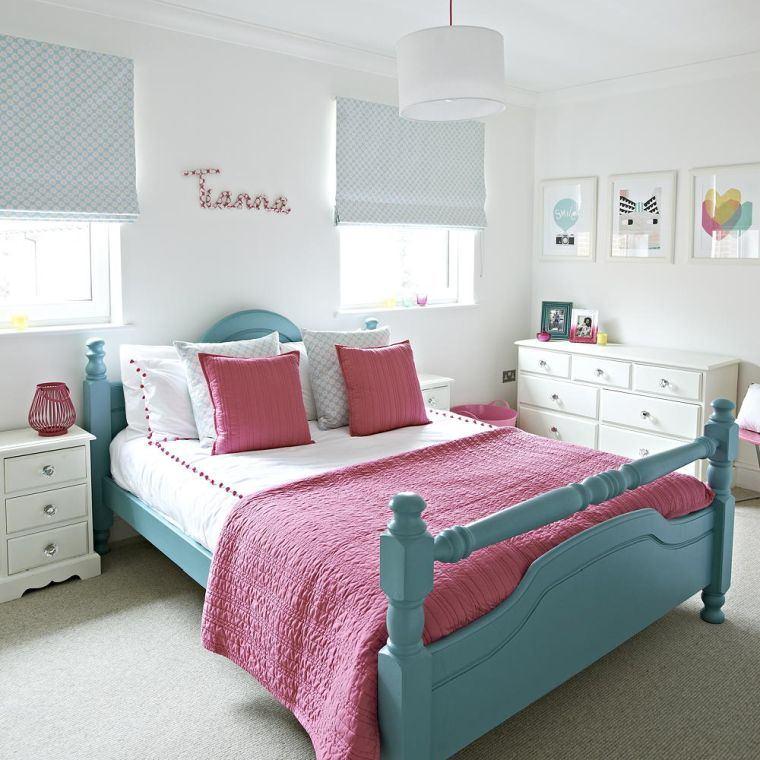 dormitorios-juveniles-cama-verde