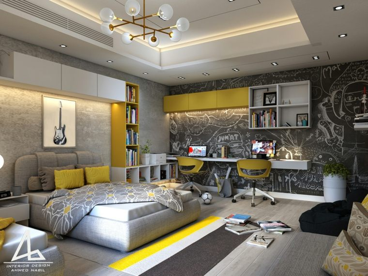 dormitorios-juveniles-iluminacion-LED
