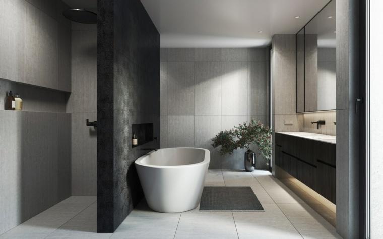 ducha-banera-ideas-iluminar-bano-moderno