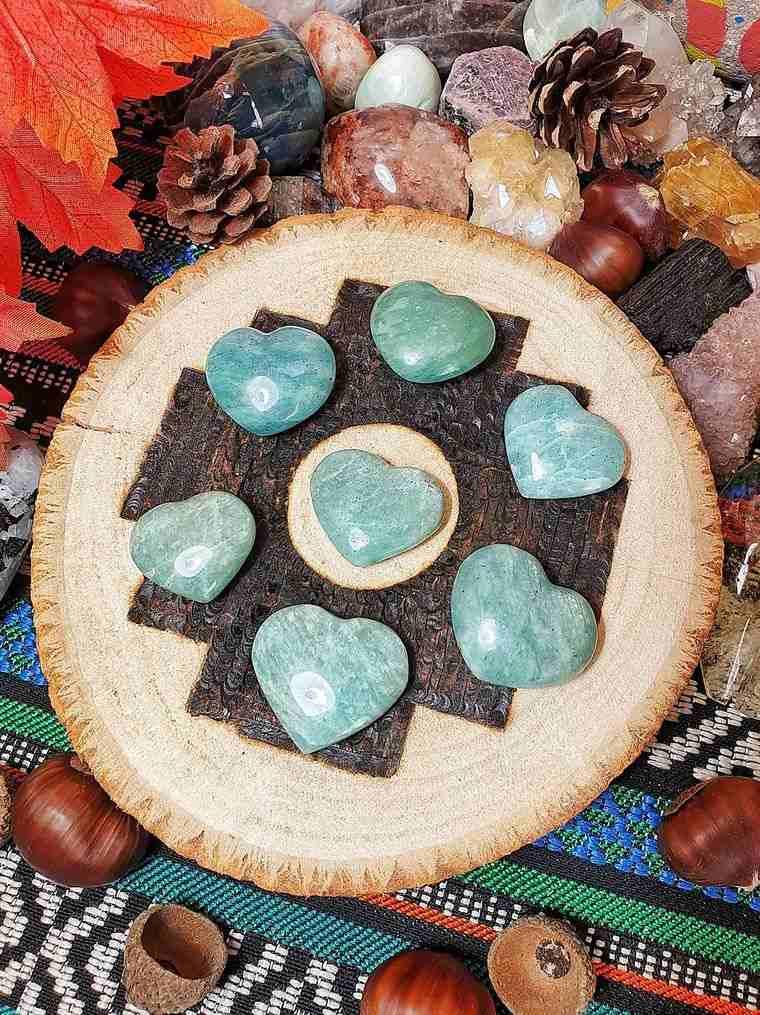 el poder de las piedras amazonita