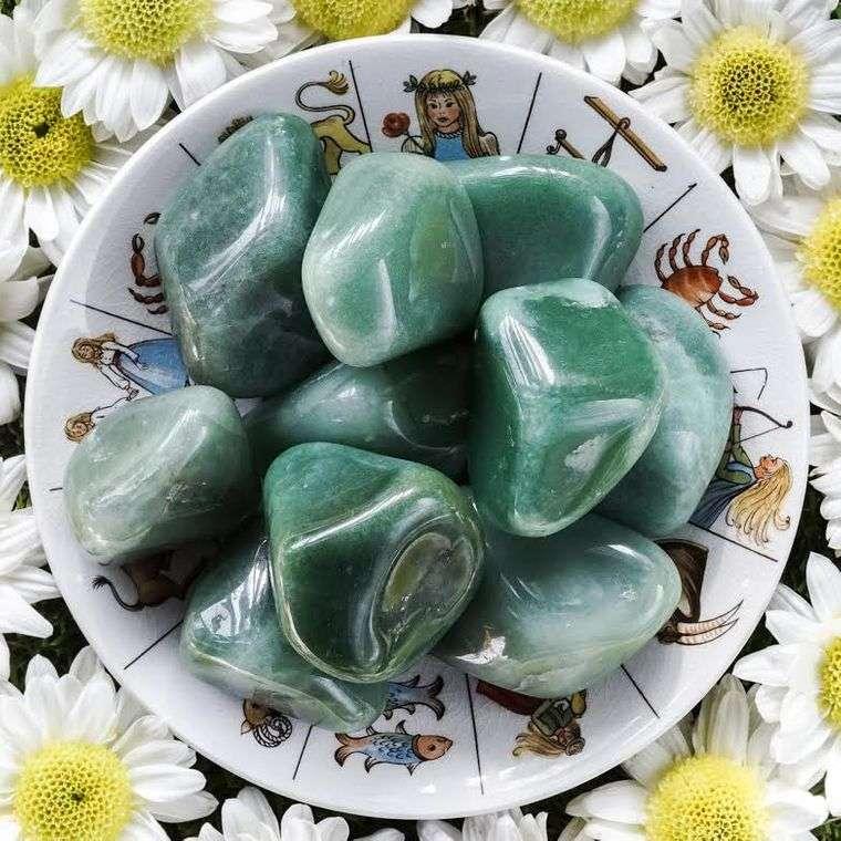el poder de las piedras aventurinas
