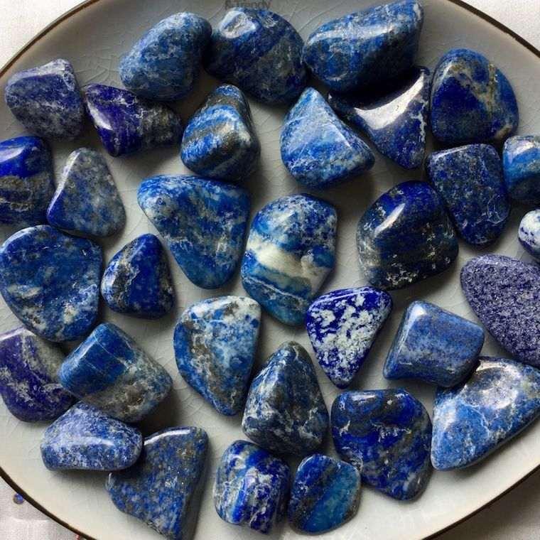 el poder de las piedras azul