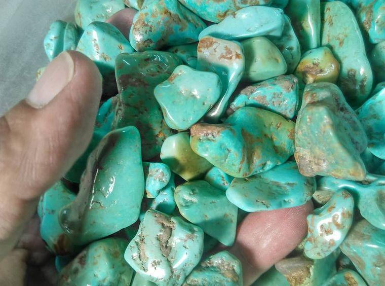 el poder de las piedras turquesa