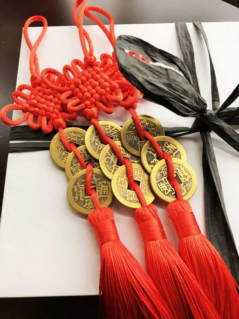 feng shui monedas
