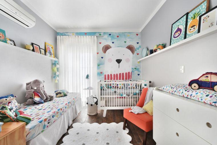 habitaciones compartidas color