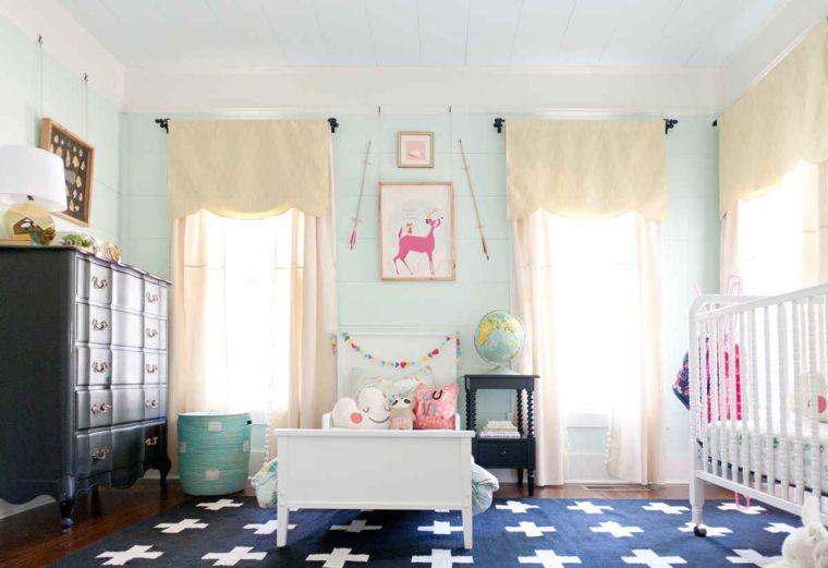 habitaciones compartidas mini cama