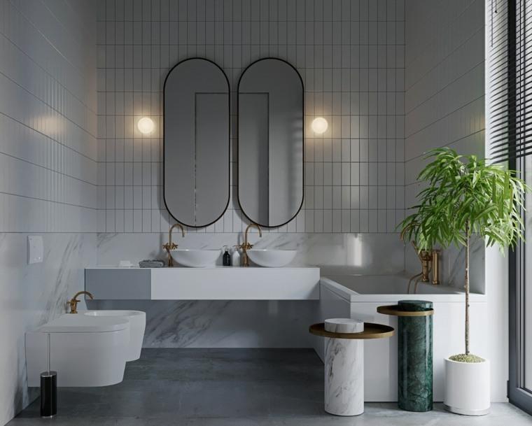 ideas-iluminar-lavabo-lamparas-estilo