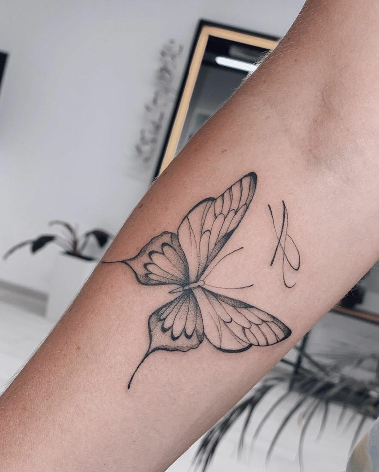 imagenes-tatuajes-mariposa-diseno-tattoo