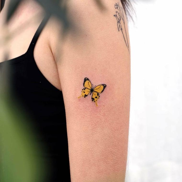 imagenes-tatuajes-mariposa-pequena