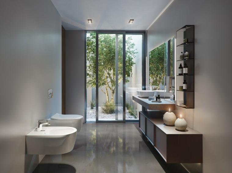 lavabo-ideas-madera-marmol-bano