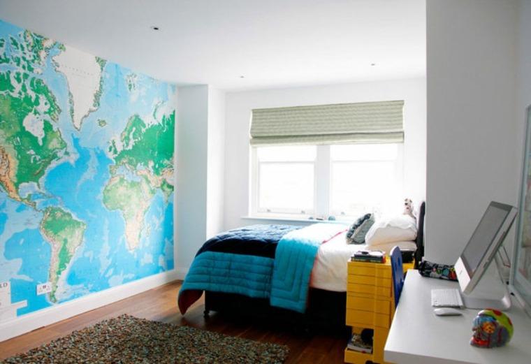 mapa-mundo-habitacion-ideas