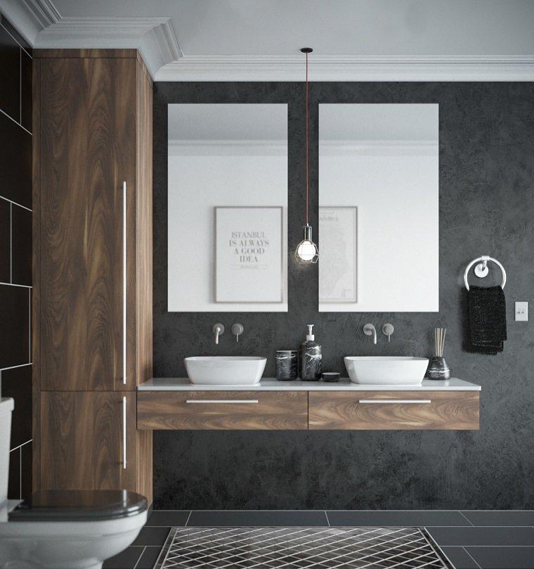 muebles-bano-madera-estilo-2020
