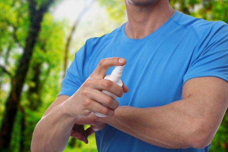 olor corporal repelente