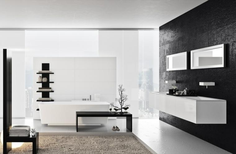 pared-color-negro-ideas-combinar-blanco