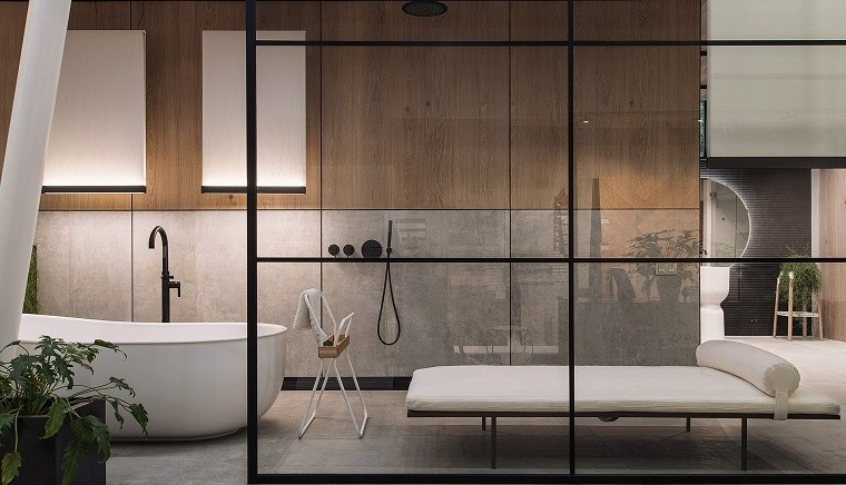 pared-madera-bano-ideas-originales