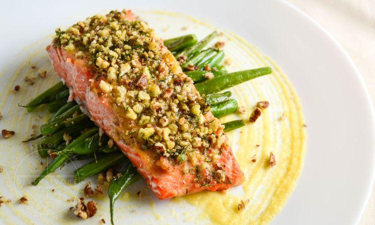 recetas gourmet salmon