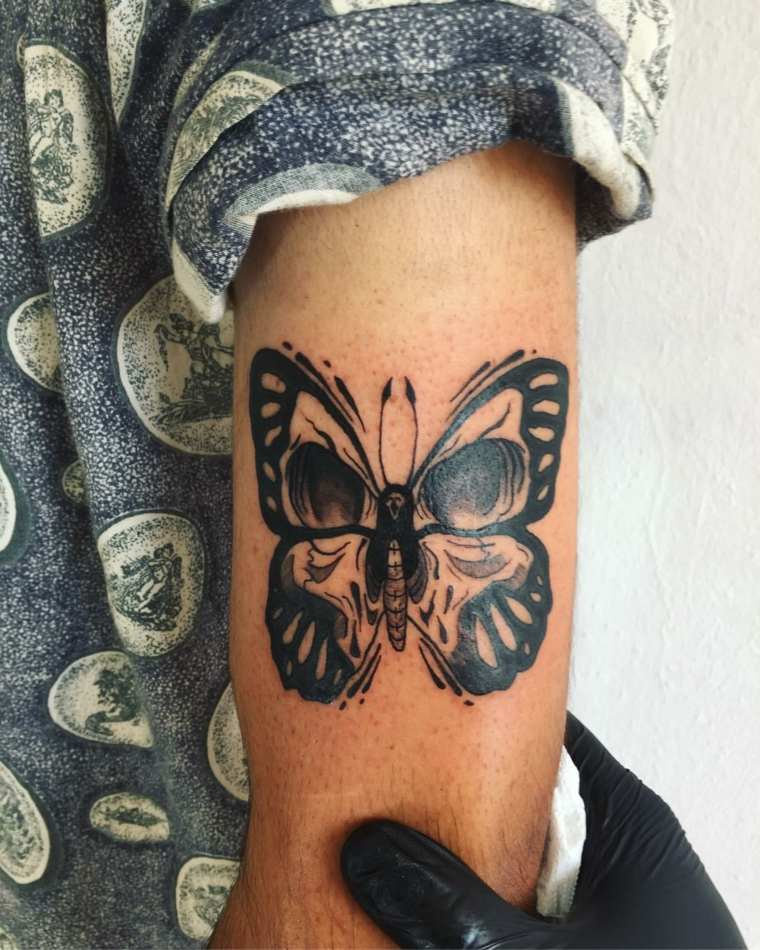 tatuaje-mariposa-ideas-originales