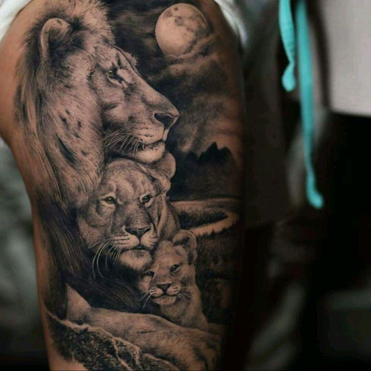 tatuajes de leones cuidado