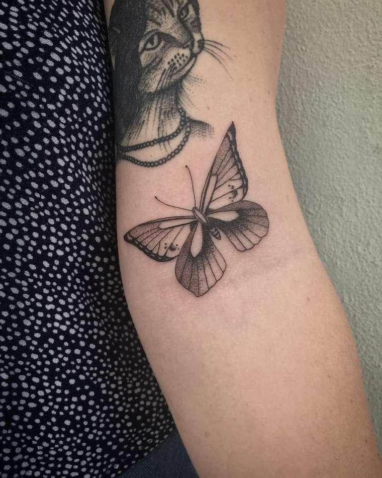 tatuajes-de-mariposas-brazo-ideas