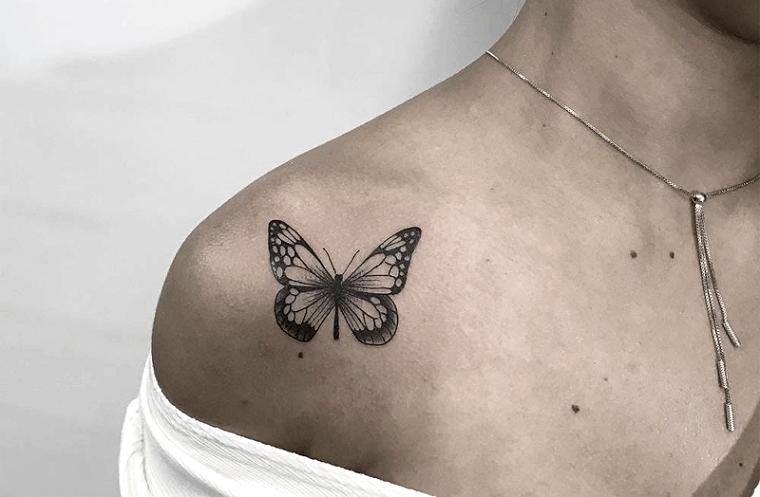 tatuajes-de-mariposas-femenino-dulce
