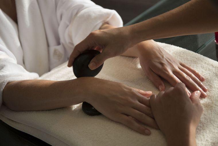 tipos de manicura masaje