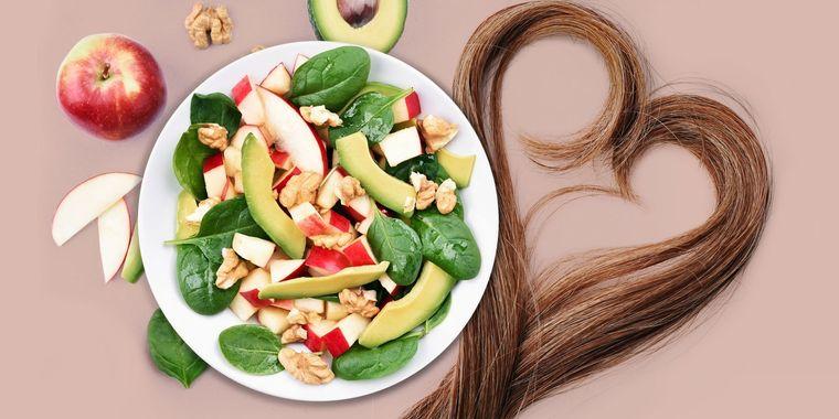 vitaminas para el cabello alimentos