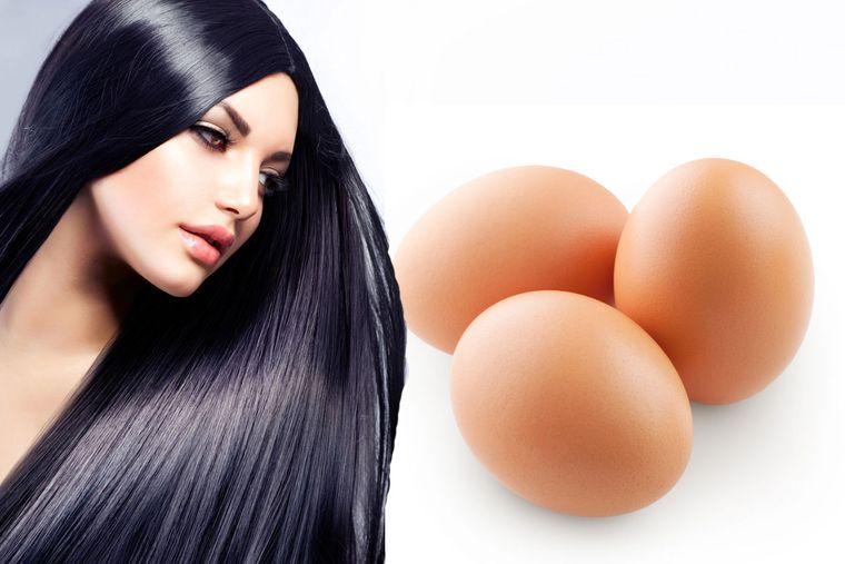 vitaminas para el cabello huevos