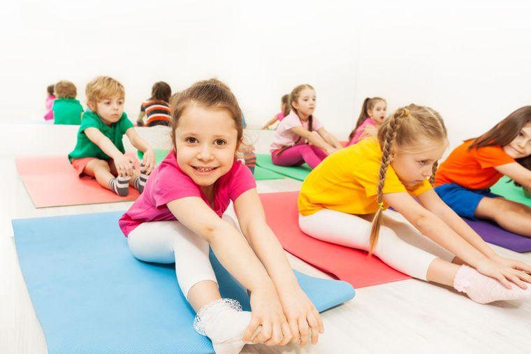 yoga para niños beneficioso