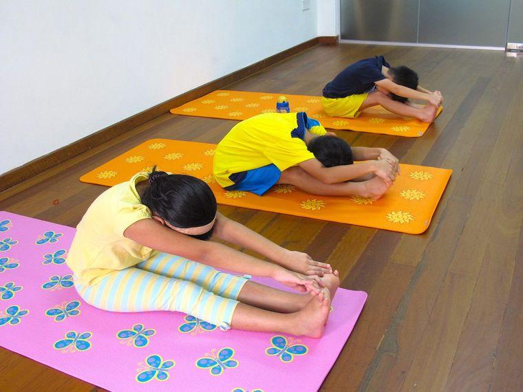 yoga para niños calma