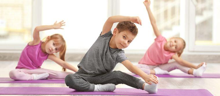yoga para niños capacidades