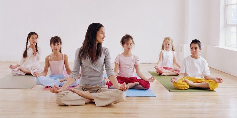 yoga para niños confianza