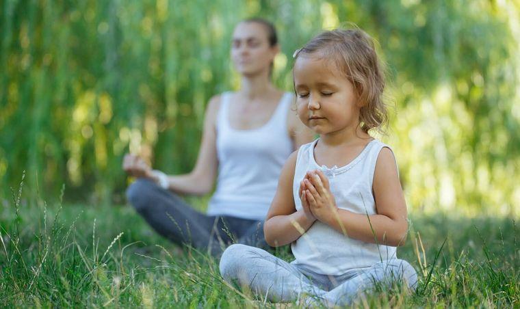 yoga para niños control