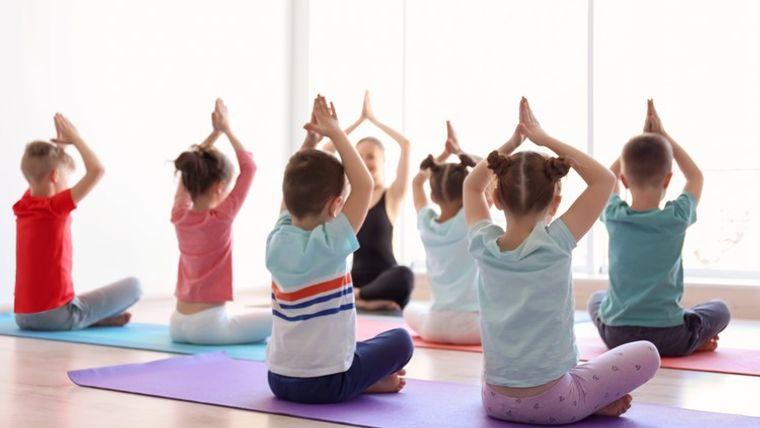 yoga para niños disciplina