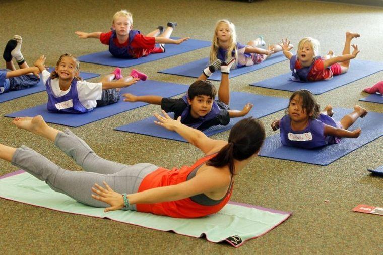 yoga para niños enseñanza