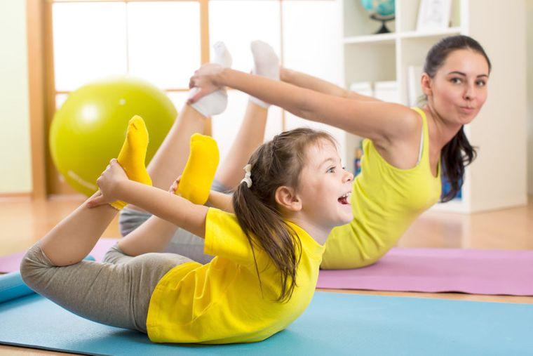 yoga para niños equipo