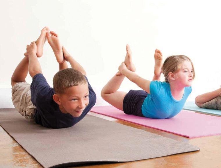 yoga para niños esfuerzo