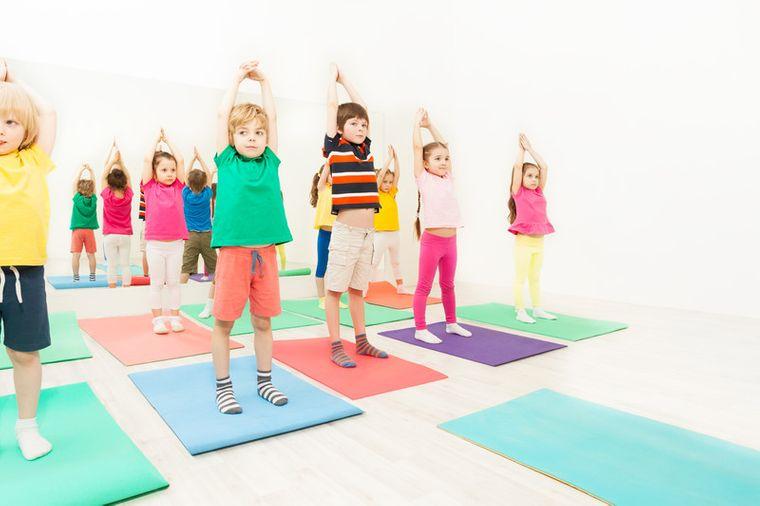 yoga para niños habilidades