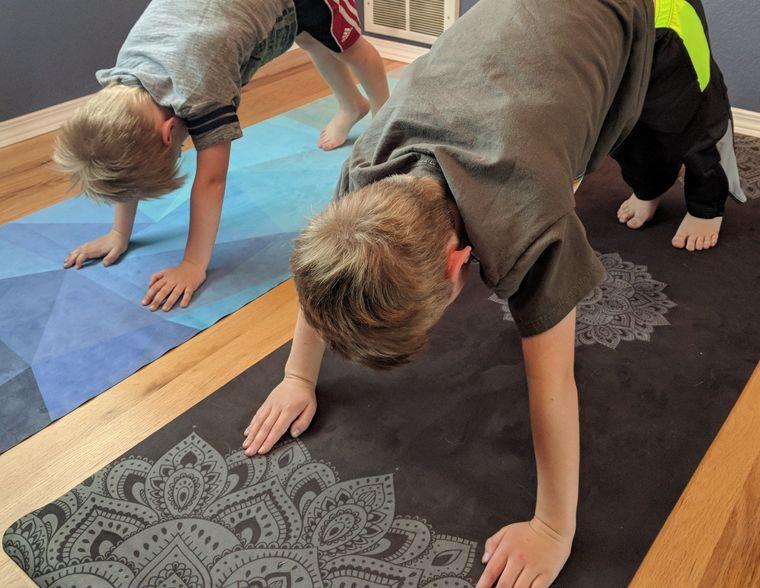 yoga para niños herramientas