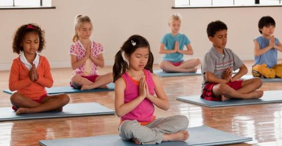 yoga para niños inicio