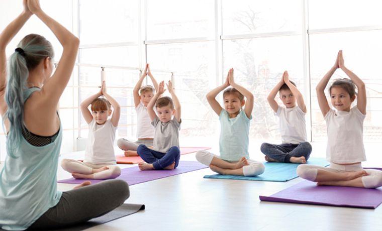 yoga para niños leccion