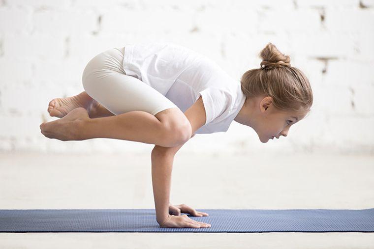 yoga para niños pose