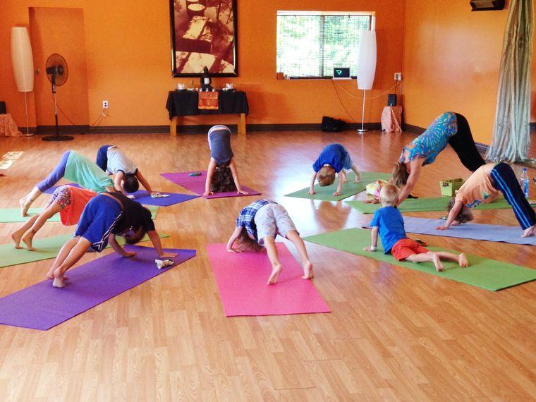 yoga para niños rutina