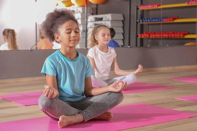yoga para niños tranquilidad