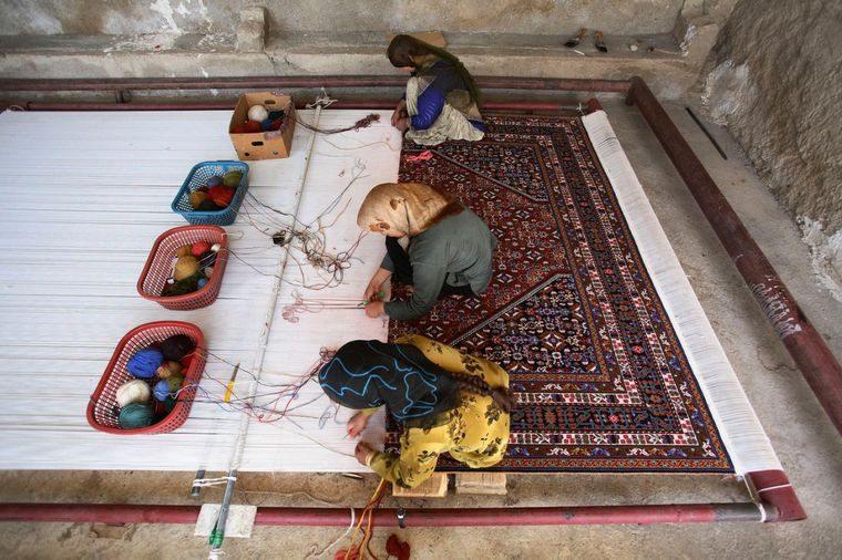 alfombras orientales arte