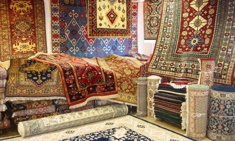 alfombras orientales color