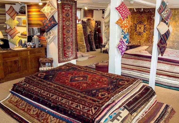 alfombras orientales comercio