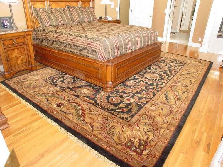 alfombras orientales habitacion