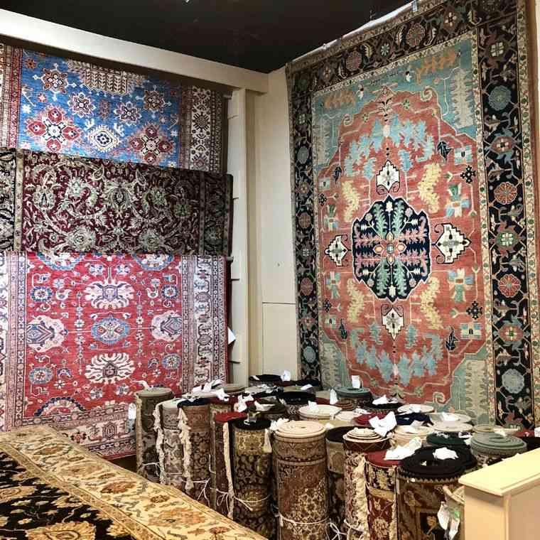 alfombras orientales patrones