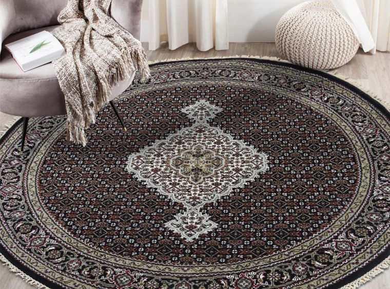 alfombras orientales redonda
