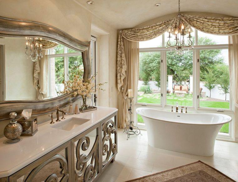 baños modernos artificial